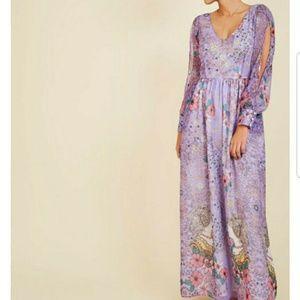 Loop twirl arche nwot maxi dress Lilac D1